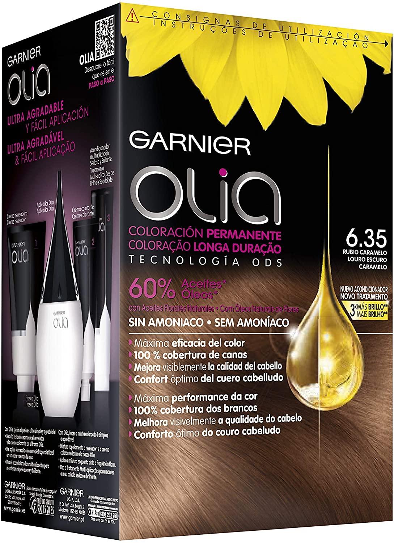 Garnier Olia - Coloración Permanente sin Amoniaco, con Aceites Florales de Origen