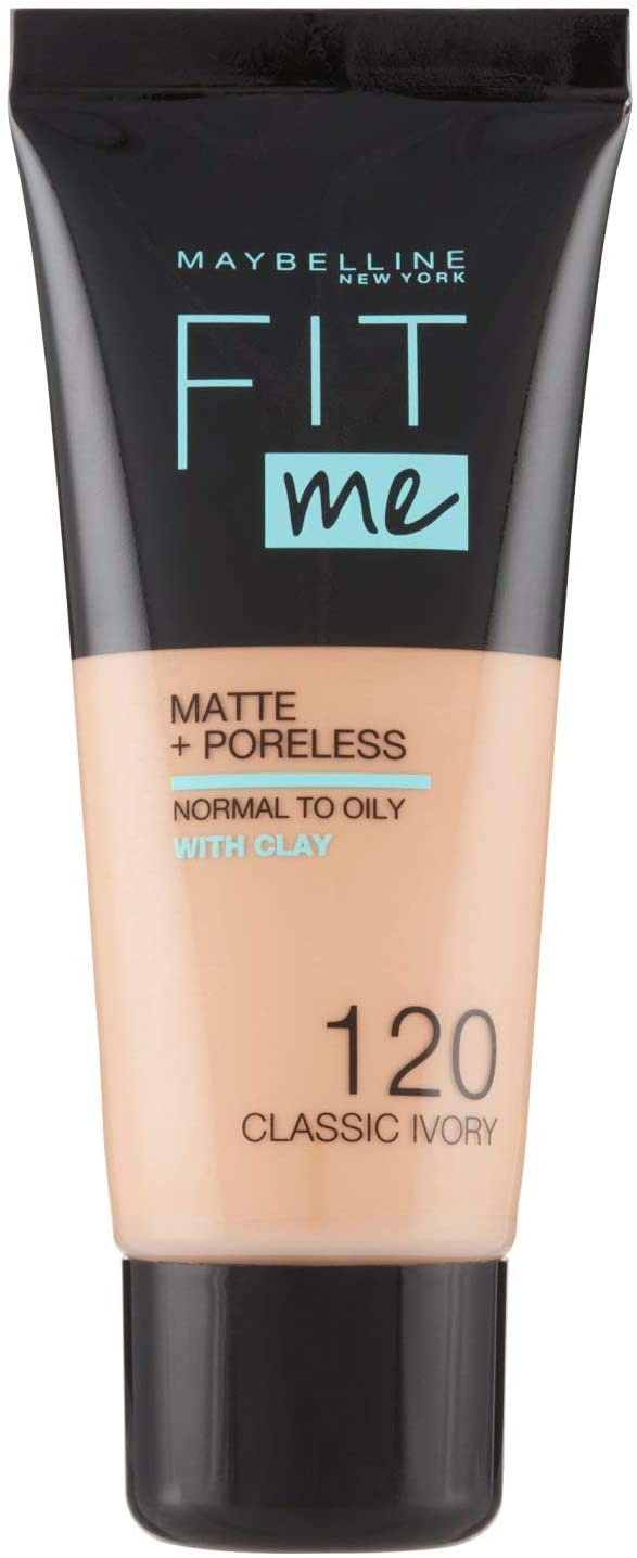 Maybelline New York, Base de Maquillaje que Calca a tu Tono Fit me!