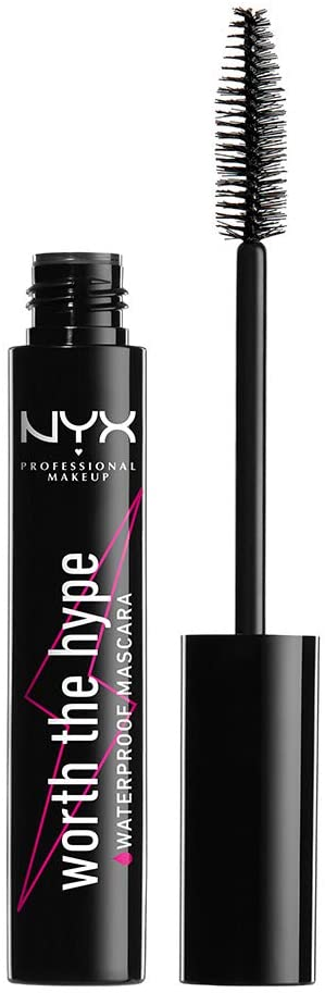NYX Professional Makeup Máscara de pestañas Worth the Hype Waterproof Mascara