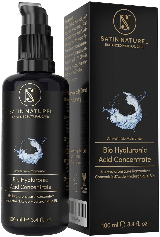 Serum Facial de Acido Hialuronico Puro orgánico - SatinNaturel
